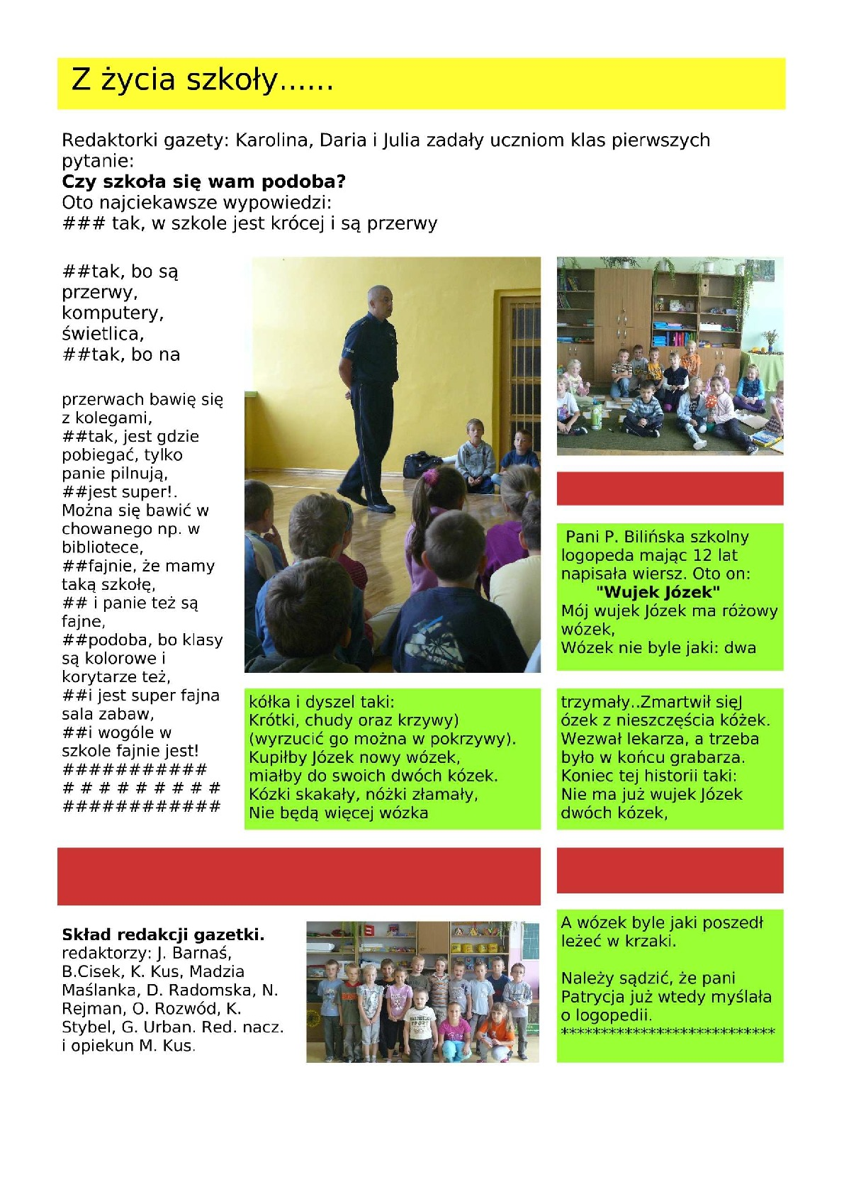 Junior Media I Tworzysz Gazetę