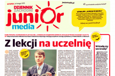 DODATEK JUNIOR MEDIA DZIŚ W KIOSKACH